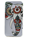 Elephant Pattern TPU Material Embossment Craft Transparent Soft Phone Case for Samsung Galaxy J3 J5 J7 G530