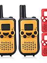 T899C Radio de Comunicacao 0.5W 8 Channels 400 - 470 MHz AAA alkaline battery 3 - 5 kmVOX / Codificacao / Tela LCD / Monitores / Explorar