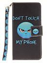 Painted Anger Pattern Card Can Lanyard PU Phone Case For Samsung Galaxy G530 G360 J1 J3 J5 (2016)