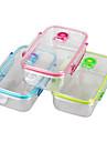 yooyee бренд ПК коробки герметичны вакуумные прозрачные пластиковые хранения с lockinglids