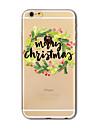 Back Cover Translucent Pattern Christmas TPU Soft Case Cover For AppleiPhone 7 7 plus iPhone 6 6 Plus iPhone 5