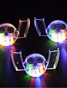 3stk farverige blinkende LED-blitz lys munden vagt stykke 4 farver party glødende tand legetøj festlige leverancer udefra