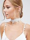 Ожерелье Ожерелья-бархатки Жемчужные ожерелья Татуировка Choker Бижутерия Свадьба Для вечеринок Halloween Повседневные Мода ВинтажЖемчуг