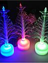 Led Fiber Optic Tree Christmas Tree Colorful Color Fiber Optic Christmas Tree Decoration Small Gift Perspective