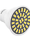 ywxlight® 7W GU10 LED-spot 32 smd 5733 500-700lm warm / koel wit AC 110 / 220V