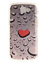 Back Cover IMD Pattern Heart TPU Soft Case Cover For LG LG K10 LG K8 LG K7 LG K4