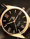 YAZOLE Men\'s Fashion Watch Wrist watch / Quartz PU Band Cool Casual Black Brown