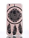 용 아이폰7케이스 / 아이폰7플러스 케이스 / 아이폰6케이스 투명 / 엠보싱 텍스쳐 / 패턴 케이스 뒷면 커버 케이스 꽃장식 소프트 TPU Apple아이폰 7 플러스 / 아이폰 (7) / iPhone 6s Plus/6 Plus / iPhone