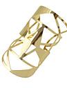 Bracelet Manchettes Bracelets Alliage Forme Geometrique Mode Soiree / Quotidien Bijoux Cadeau Dore,1pc
