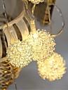 10-водить 1.5м звезда свет водонепроницаемый штекер открытый свет украшения рождества праздник вел свет шнура