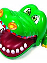 Crocodile Board Game Practical Joke Gadget Leisure Hobby Novelty ABS Green Boys / Girls