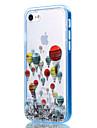 용 아이폰7케이스 / 아이폰6케이스 / 아이폰5케이스 투명 / 패턴 케이스 뒷면 커버 케이스 풍선 소프트 TPU Apple아이폰 7 플러스 / 아이폰 (7) / iPhone 6s Plus/6 Plus / iPhone 6s/6 / iPhone