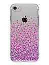 Pour Coque iPhone 7 Coque iPhone 6 Coque iPhone 5 Ultrafine Transparente Motif Coque Coque Arriere Coque Degrade de Couleur Flexible PUT