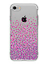 Para Ultra-Fina / Transparente / Estampada Capinha Capa Traseira Capinha Cores Gradiente Macia TPU AppleiPhone 7 Plus / iPhone 7 / iPhone