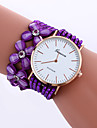 Women\'s Fashion Watch Imitation Diamond Korean Valve Long Chain Flower Drill Rhinestone Band Watch Ladies Geneva Quartz Wrist Watches Horloges