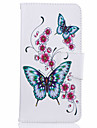For iPhone 7 Case / iPhone 6 Case / iPhone 5 Case Card Holder / with Stand / Flip / Pattern Case Full Body Case Butterfly Hard PU Leather