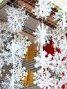6pcs / 1set flocons de neige en trois dimensions sur l\'enroulement chaine a neige stereo