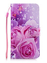 For Card Holder / Wallet / with Stand Case Back Cover Case Flower Hard PU Leather for SamsungA7(2016) / A5(2016) / A3(2016) / A7 / A5 /