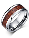 Men\'s Ring Band Rings Jewelry Tungsten Steel Jewelry For Party Daily Casual