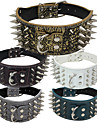 Chat / Chien Colliers Ajustable/Reglable / Cloutees Pierre / Musique Blanc / Vert / Marron / Gris / Or / Rouge Rose / Multicouleur Cuir PU