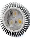 6W GU5.3(MR16) Точечное LED освещение MR16 3 Высокомощный LED 560 lm Тёплый белый / Холодный белый V 1 шт.