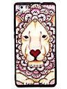 For Huawei P8 P9 Lionhead Pattern TPU Material Painted Relief Phone Case for P8 Lite P9 LITE Y5II Honor5A Honor8 Mate7
