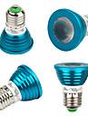 3W E26/E27 Lampadas de Foco de LED MR16 1 LED de Alta Potencia 240 lm RGB Decorativa V 4 pcs