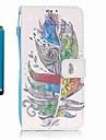 용 카드 홀더 / 지갑 / 스탠드 케이스 풀 바디 케이스 깃털 하드 인조 가죽 Samsung A5(2016) / A3(2016)