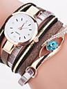Женские Модные часы Наручные часы Часы-браслет Цветной Кварцевый PU ГруппаВинтаж Блестящие В точечку Радужный Богемные С подвесками