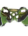 силиконовый чехол кожа для PS2 PS3 контроллер камуфляж