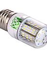 4W E26/E27 LED лампы типа Корн T 48 SMD 3014 350-450 lm Тёплый белый / Холодный белый Декоративная V 1 шт.
