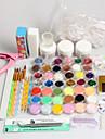 42pcs fichier clipper glitter pinceau à poudre acrylique ongles réglé