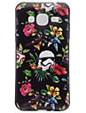 Para samsung galaxy j3 j3 (2016) padrao de flores soft tpu capa de capa capa de telefone