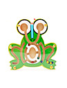 Educational Toy Maze & Sequential Puzzles Novelty Frog Wood Green