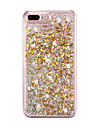 Pour Liquide Coque Coque Arriere Coque Brillant Dur Polycarbonate pour AppleiPhone 7 Plus / iPhone 7 / iPhone 6s Plus/6 Plus / iPhone