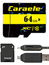 Caraele 64Go TF carte Micro SD Card carte memoire UHS-I U1 Class10