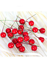 2см 20шт небольшое моделирование Гранат фрукты ягоды искусственный цветок красный рождественские вишня тычинки свадьба праздник декора