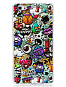 For Glow in the Dark IMD  Pattern Case Back Cover Case cartoon animals Soft TPU for Huawei Huawei P9 Lite   Huawei P8 Lite