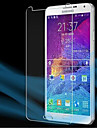 [3-Pack]Professional High Transparency LCD Crystal Clear Screen Protector with Cleaning Cloth for Samsung Galaxy Note 4