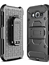 For Samsung Galaxy J7 Prime Case Cover Shockproof with Stand Full Body Solid Color Hard PC