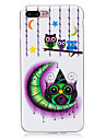 For Glow in the Dark  IMD Case Back Cover Case Owl Soft TPU for Apple iPhone 7 Plus  7  6s Plus 6 Plus   6s  6  SE 5 S5 5C
