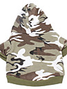 Dog Hoodie Dog Clothes Summer Spring/Fall Camouflage Casual/Daily Sports Pink Camouflage Color