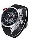 Men\'s Sport Watch Military Watch Dress Watch Fashion Watch Wrist watch Digital Watch Calendar Stopwatch Quartz Digital Genuine Leather