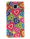 For Samsung Galaxy A5 A5(2016) A3 A3(2016) Case Cover Love Pattern IMD Process Painted TPU Material Phone Case