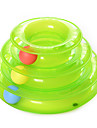 Cat Toy Pet Toys Ball Interactive Ball Track Disk Plastic