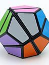 LanLan® 부드러운 속도 큐브 메가밍크스 속도 매직 큐브 블랙 페이드 부드러운 스티커 / 안티 - 팝 ABS