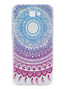 For Samsung Galaxy J7Prime J2Prime  phone Case Big Round Lace Embossed Pattern TPU Material High Penetration