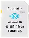 Toshiba 16 Гб SD-карта Wi-Fi карта памяти Class10 Flash air