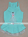 Cat / Dog Dress Green / Blue / Pink Dog Clothes Summer Characters Cosplay / Birthday / Holiday / Fashion
