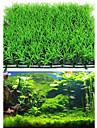 Aquarium Decoration Artificial Water Aquatic Green Grass Plant Lawn Fish Tank Landscape